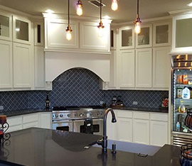 pre finished cabinets